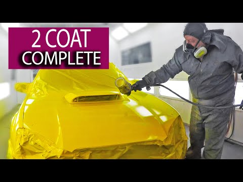 Complete Paint Job in 2 Coats - Singlestage Car Paint