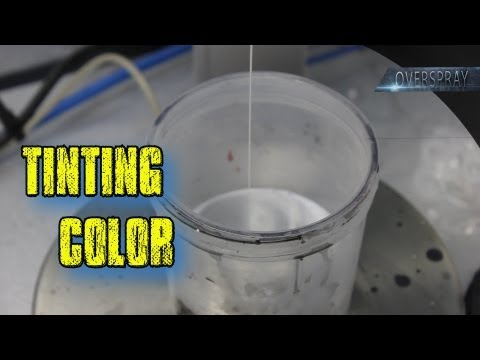 Paint and Color Tinting