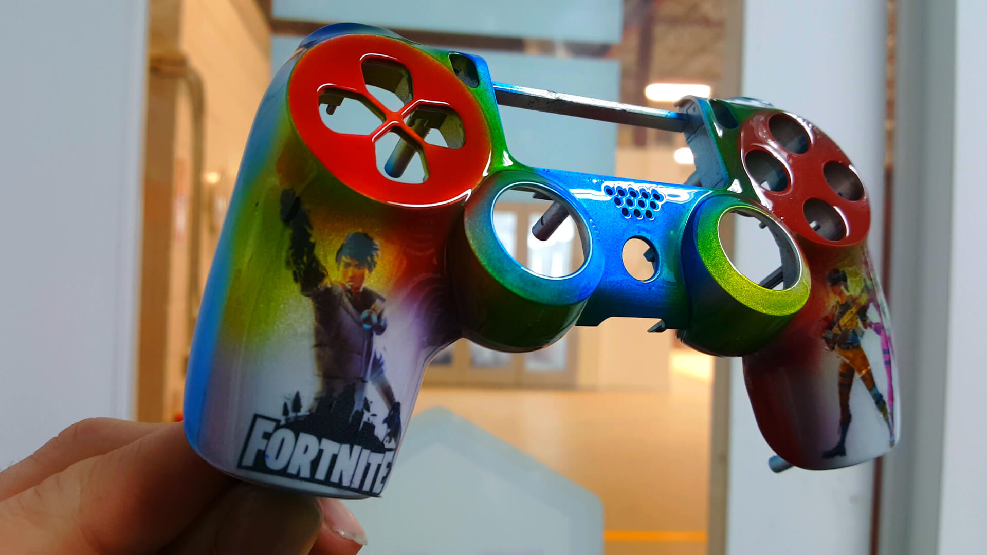Custom Painted PS4 Controllers - Refinish Network
