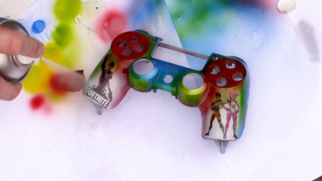 How to Paint a PS4 Controller